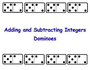Adding and Subtracting Integers (Rational Numbers)