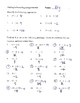 Adding and Subtracting Integers Review Worksheet