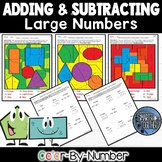 Addition and Subtraction of Large Numbers