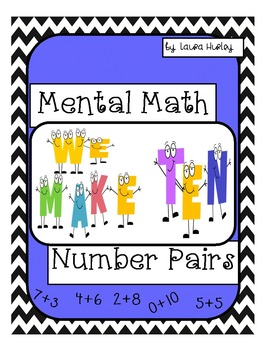 Mental Math: Number Pairs To Make Ten