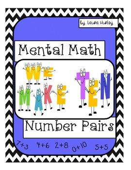 Mental Math: Number Pairs To Make Ten