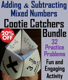 Adding and Subtracting Mixed Numbers with Unlike Denominators Games Bundle