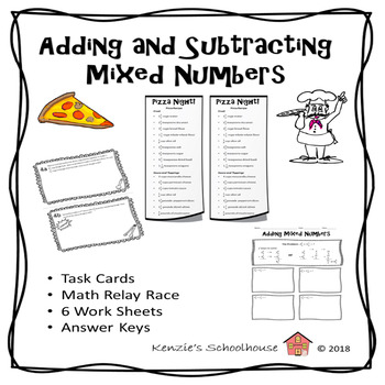 Mixed Numbers: Adding and Subtracting