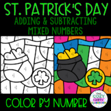 Adding and Subtracting Mixed Numbers Activity