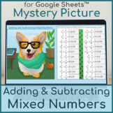 Adding and Subtracting Mixed Numbers | Distance Learning |