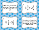 Adding and Subtracting Mixed Numbers Task Cards