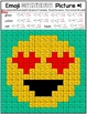 Emoji Adding and Subtracting Mixed Numbers Mystery Pictures - Set 2