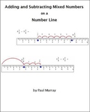 Adding and Subtracting Mixed Numbers on a Number Line