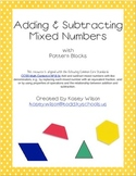 Adding and Subtracting Mixed Numbers with Pattern Blocks