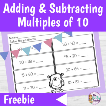 Adding and Subtracting Multiples of 10