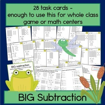 Adding and Subtracting Multiples of 10 Bundle