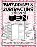 Adding and Subtracting Multiples of Ten