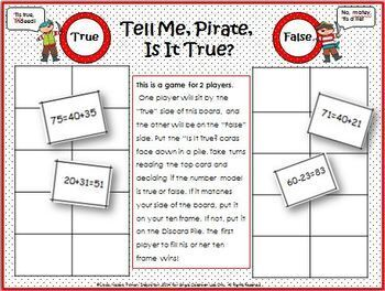 Adding and Subtracting Multiples of Ten: Pirates!