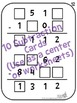 Number Tiles or Squares Adding and Subtracting Puzzles (Print or iPad)