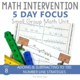 Adding and Subtracting On a Number Line | Math Interventio