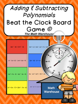 Adding and Subtracting Polynomials