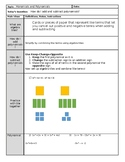 Adding and Subtracting Polynomials - Notes AND Algebra Tiles