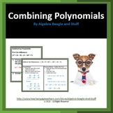 Combining Polynomials Scaffold Notes