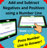 Adding and Subtracting Positive and Negative Integers- 20 Boom Learning Cards