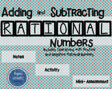 Adding and Subtracting Positive and Negative Rational Numbers