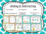 Adding and Subtracting Powerpoint (91 pages)