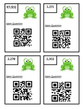 Adding and Subtracting QR Code Scavenger Hunt - 4.NBT.4