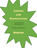 Adding and Subtracting Radical Expressions - Dominos