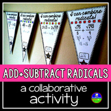Adding and Subtracting Radicals Pennant