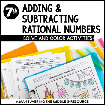 Adding And Subtracting Rational Numbers By Maneuvering The Middle