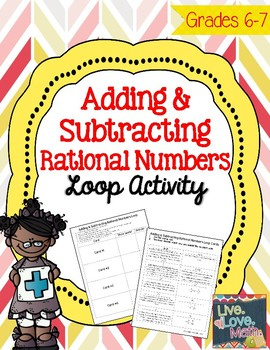 Adding and Subtracting Rational Numbers Loop Activity