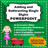 Addition and Subtraction Math - Kindergarten