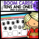 Adding and Subtracting Tens BOOM CARDS | DIGITAL TASK CARD