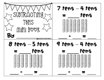 Adding and Subtracting Tens up to 120