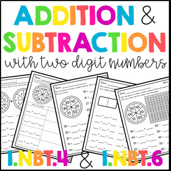 Adding and Subtracting Two Digit Numbers