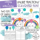 Adding and Subtracting Unlike Fractions Scavenger Hunt