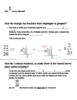 Adding and Subtracting Unlike Fractions Step By Step