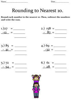 Adding and Subtracting Using Rounding