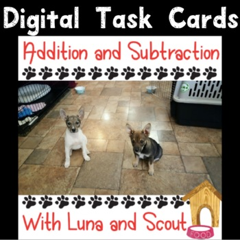 Adding and Subtracting With Luna and Scout Boom Deck