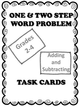 Adding and Subtracting Word Problem Task Cards