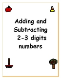 Adding and Subtracting Word Problems 2-3 digit numbers