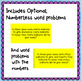 Adding and Subtracting ~ Word Problems Sort & Solve