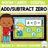 Adding and Subtracting Zero - Boom Cards - Digital - Dista