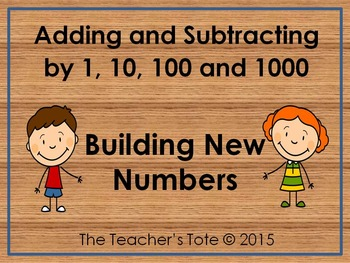 Adding and Subtracting by 1,10,100 and 1000