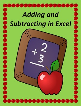 Adding and Subtracting in Microsoft Excel