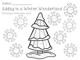 Adding and Subtracting in a Winter Wonderland