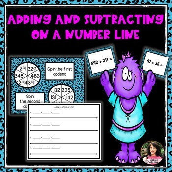Adding and Subtracting on a Number Line