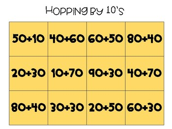 Adding and Subtracting on an open number line