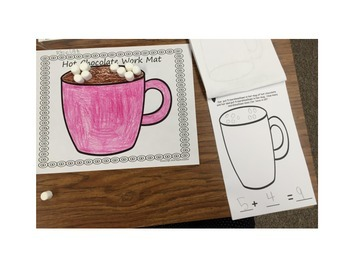 Adding and Subtracting to 10 with Hot Chocolate & Marshmallows! Freebie