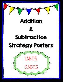 Adding and Subtracting to 100 Strategy Posters