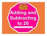 Adding and Subtracting to 20